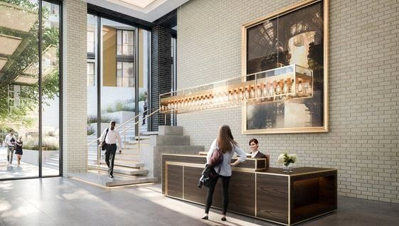 Reception of Thornes House, 6-8 Charles Clowes Walk, The Residence, London SW11