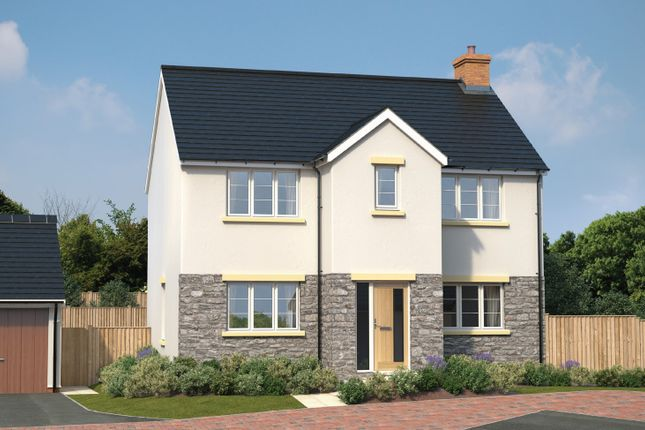 Thumbnail Detached house for sale in Plot 54, Ladywell Meadows, Chulmleigh