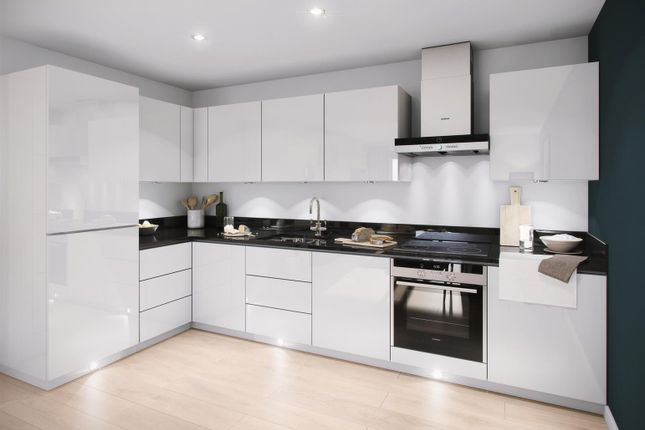 Thumbnail Flat for sale in Victoria Riverside Apartments, Leeds