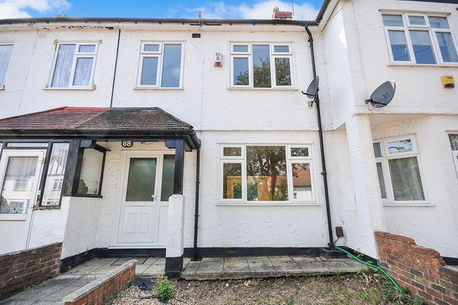 Thumbnail Terraced house to rent in Alliance Road, London