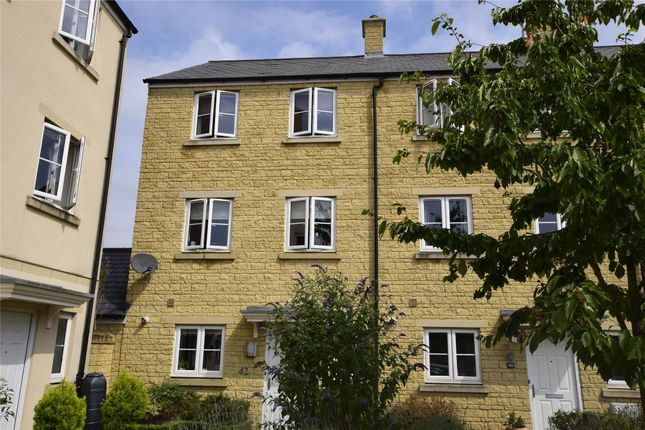 Thumbnail End terrace house to rent in Ashcombe Crescent, Witney, Oxfordshire