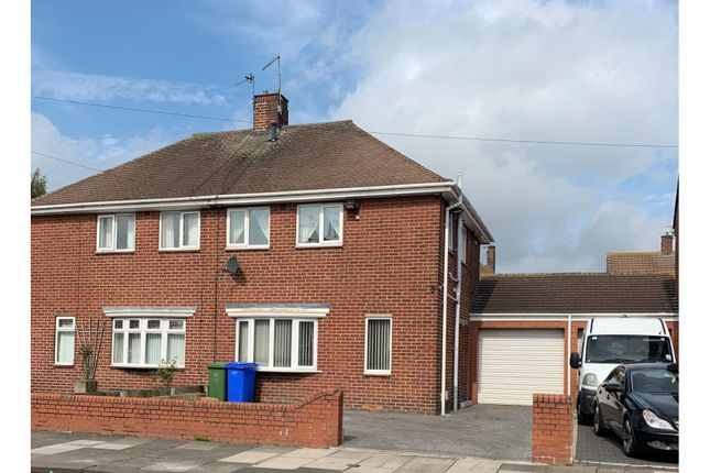 Semi-detached house for sale in Newsham Road, Blyth