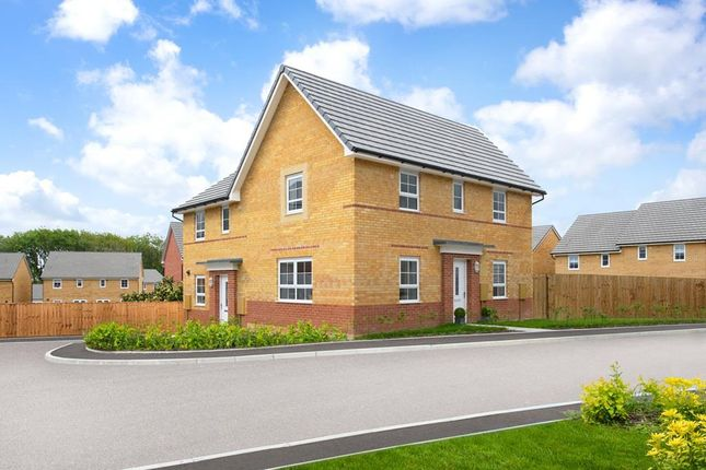 """Thumbnail Semi-detached house for sale in """"Moresby"""" at Rosedale, Spennymoor"""