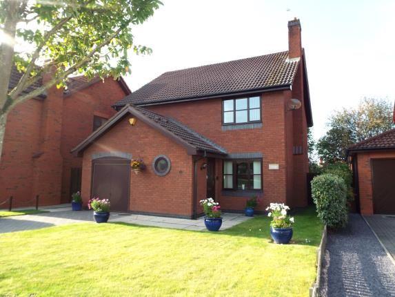 Thumbnail Detached house for sale in Ffordd Trem Y Foel, Mold, Flintshire