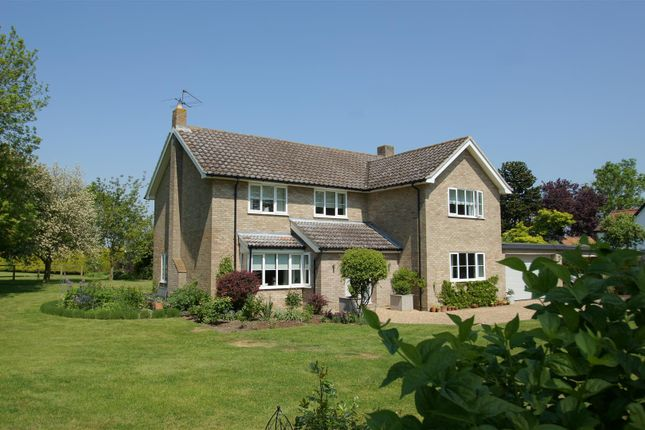 Thumbnail Detached house for sale in Pond End Lane, Market Weston, Diss