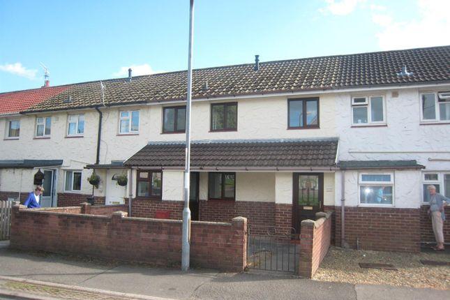 Thumbnail Terraced house for sale in Brangwyn Avenue, Llantarnam, Cwmbran