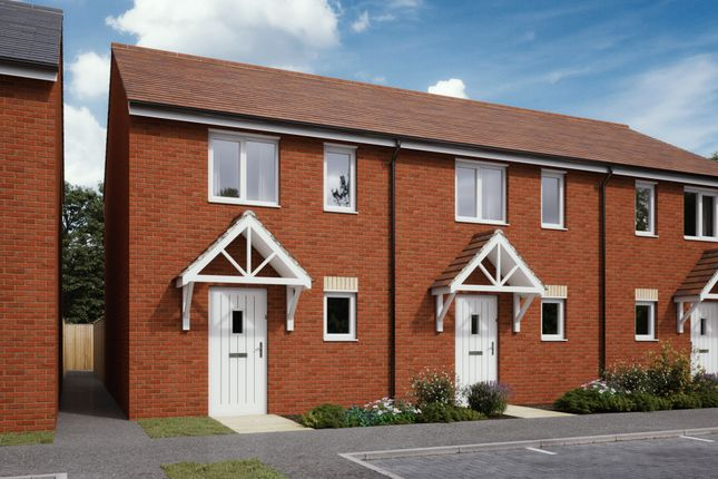 Thumbnail Terraced house for sale in Plots 153 & 160 Hele Park, Newton Abbot