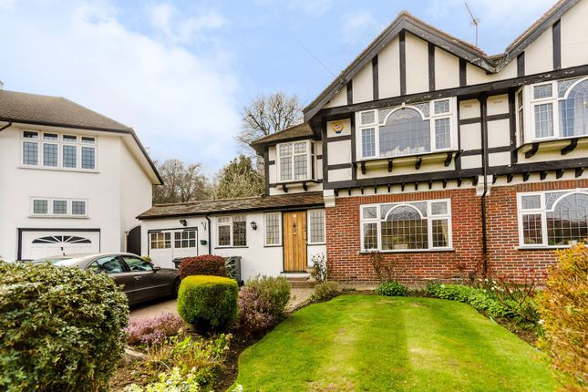 Thumbnail Semi-detached house for sale in Ullswater Crescent, Kingston Hill, London
