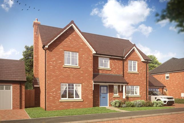 Thumbnail Detached house for sale in Walton Avenue, High Ercall, Telford