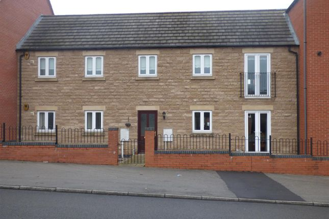 Thumbnail Flat for sale in Bruntings Court, Mansfield