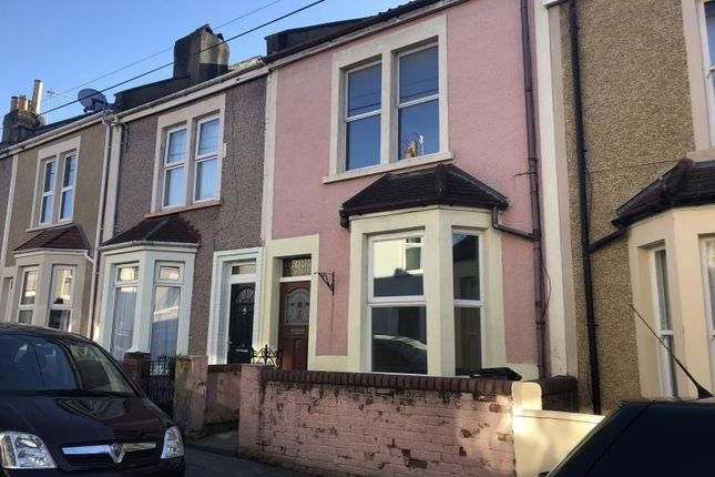 Thumbnail Terraced house to rent in Maidstone Street, Bedminster, Bristol