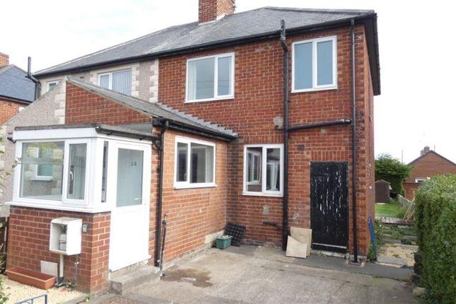 Thumbnail Semi-detached house to rent in Elizabeth Street, Widdrington, Morpeth