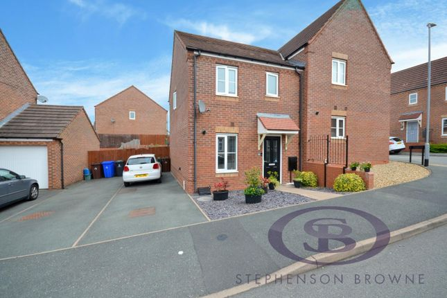 3 bed semi-detached house for sale in Burtree Drive, Norton Heights, Stoke-On-Trent ST6