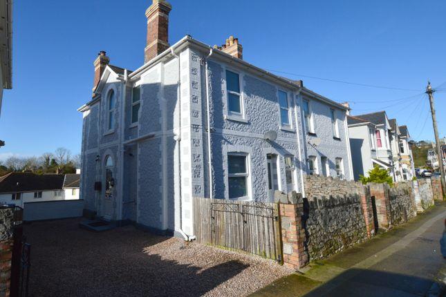 Semi-detached house for sale in Shirburn Road, Torquay