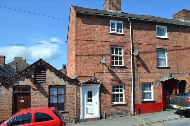 Thumbnail End terrace house for sale in Bryn Street, Newtown, Powys