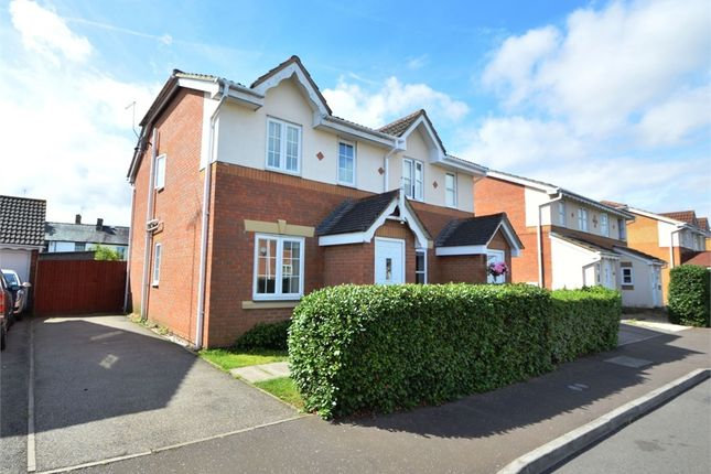 Thumbnail End terrace house to rent in Alder Drive, Huntingdon, Cambridgeshire