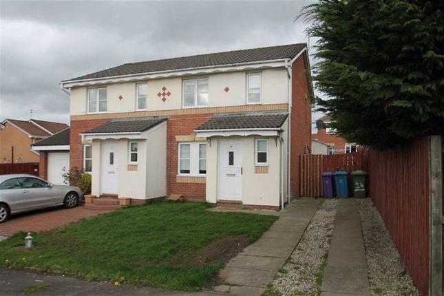 Thumbnail Semi-detached house for sale in Springhill Farm Road, Baillieston, Glasgow