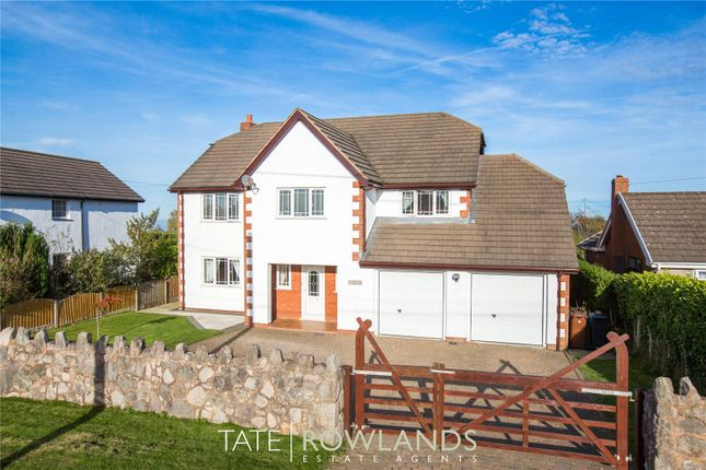 5 bed detached house for sale in Brynsannan, Brynford, Holywell, Flintshire