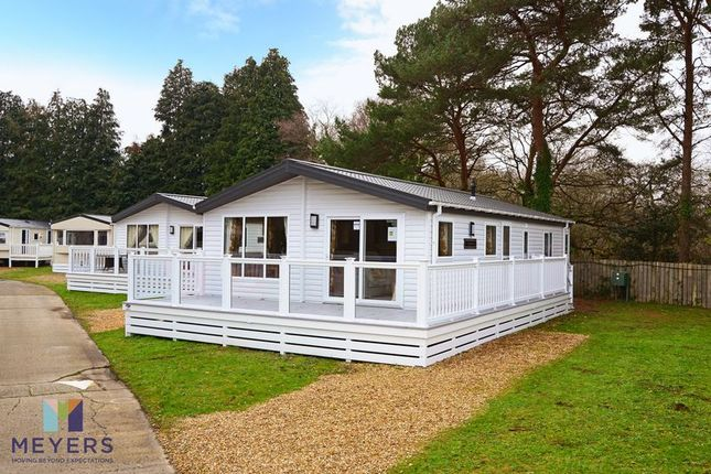 Thumbnail Mobile/park home for sale in Organford Road, Sandford BH16.