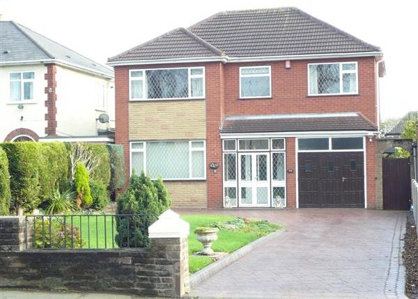 Thumbnail Detached house for sale in Broad Lane South, Wednesfield, Wednesfield