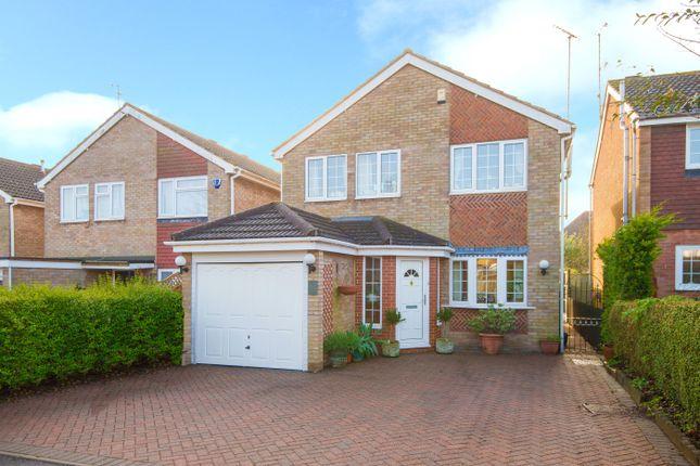 Thumbnail Detached house for sale in St. Bernards Close, Luton