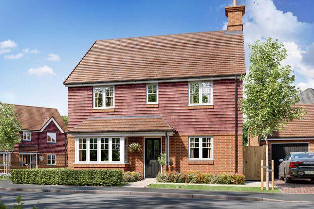 "Thumbnail Detached house for sale in ""The Pembroke"" at Allington Lane, Fair Oak, Eastleigh"