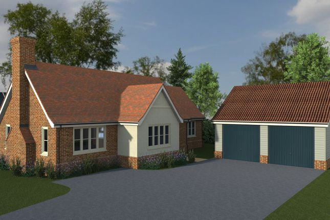 Thumbnail Detached bungalow for sale in Priory Meadows, Benton End, Hadleigh, Suffolk