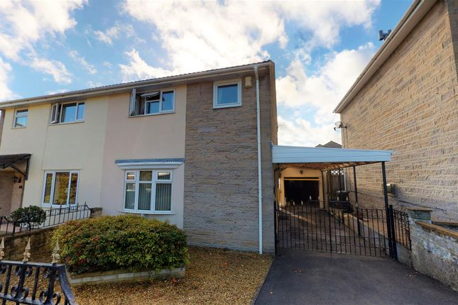 Thumbnail Semi-detached house for sale in Welton Grove, Midsomer Norton, Radstock