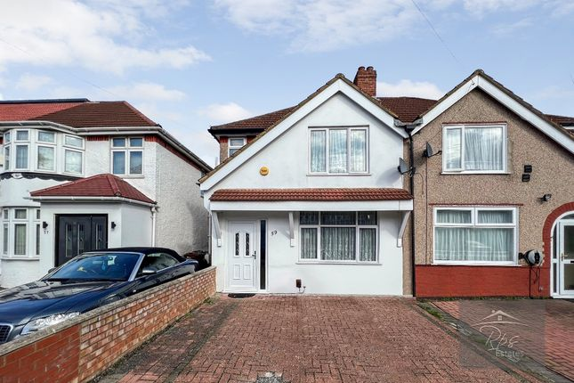 Thumbnail Semi-detached house to rent in Clairvale Road, Heston