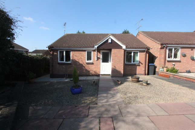 Thumbnail Detached bungalow for sale in Coniston Court, Earl Shilton, Leicester