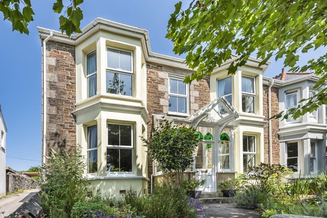 Thumbnail End terrace house for sale in Albany Road, Redruth, Cornwall