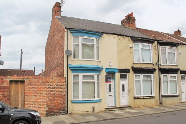 Thumbnail End terrace house for sale in Clive Road, Linthorpe, Middlesbrough