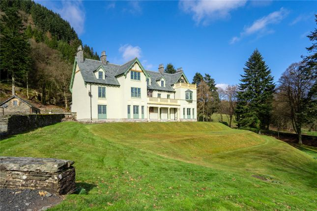 Thumbnail Detached house for sale in Cwmdauddwr, Nr Rhayader, Powys