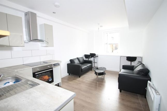 Thumbnail Flat to rent in Queens Street, A Queens Street, Leicester