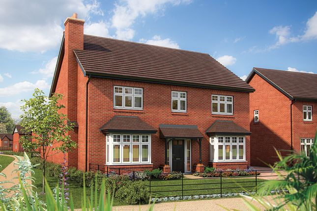 "Thumbnail Detached house for sale in ""The Lime"" at Warwick Road, Kenilworth"