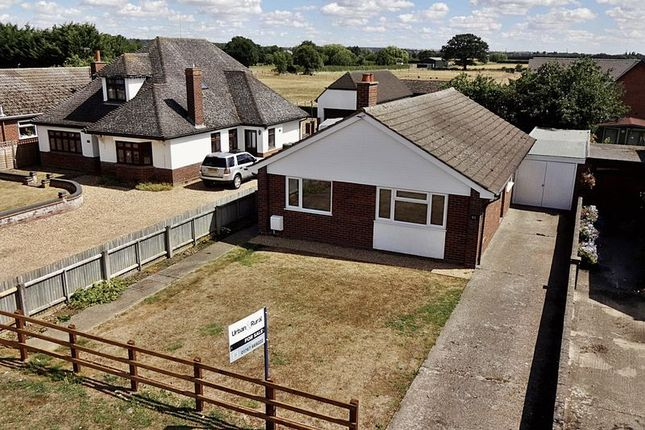 Thumbnail Detached bungalow for sale in Hitchin Road, Upper Caldecote, Biggleswade