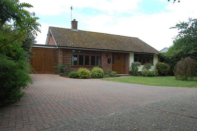 Thumbnail Detached bungalow for sale in Grundisburgh Road, Great Bealings, Woodbridge