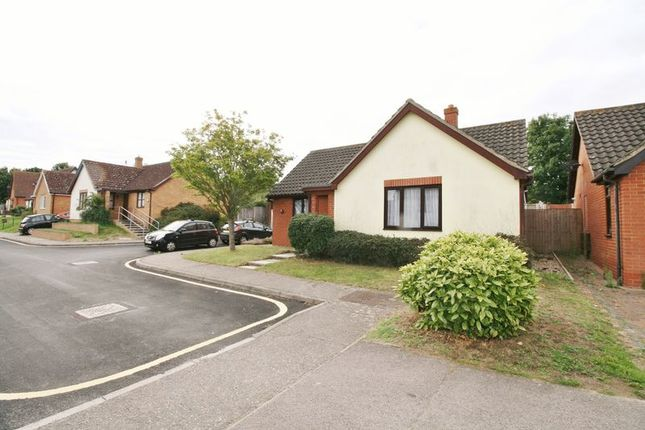Thumbnail Bungalow for sale in Dixon Close, Lawford, Manningtree