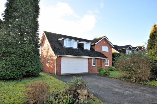 Thumbnail Detached house for sale in Hatfield Court, Holmes Chapel, Crewe
