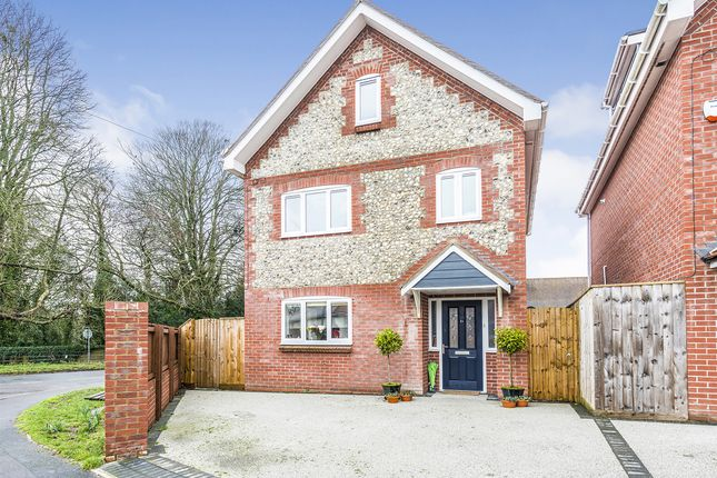 Thumbnail Detached house for sale in Butt Close, Puddletown, Dorchester