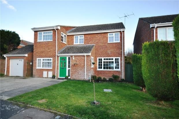 Thumbnail Detached house for sale in Carbonel Close, Basingstoke, Hampshire