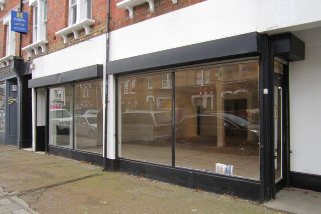 Thumbnail Retail premises for sale in Sandycombe Road, Kew