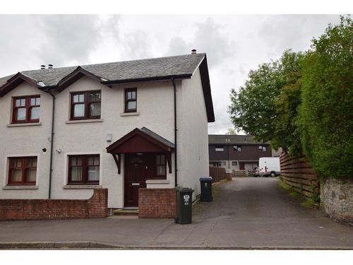 Thumbnail End terrace house to rent in Ruthven Street, Auchterarder