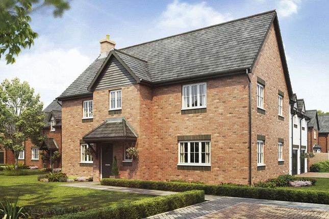 Thumbnail Detached house for sale in Plot 10, The Regent, Barley Fields, Uttoxeter