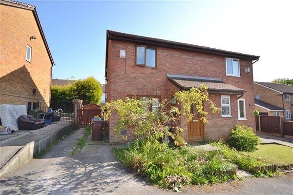 Thumbnail Semi-detached house for sale in The Oaks, Chorley