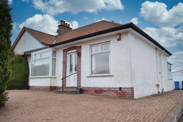 Thumbnail Semi-detached bungalow for sale in Ashlea Drive, Giffnock, Glasgow