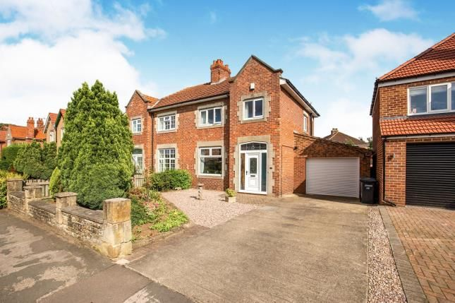 Thumbnail Semi-detached house for sale in Ainderby Road, Northallerton, North Yorkshire