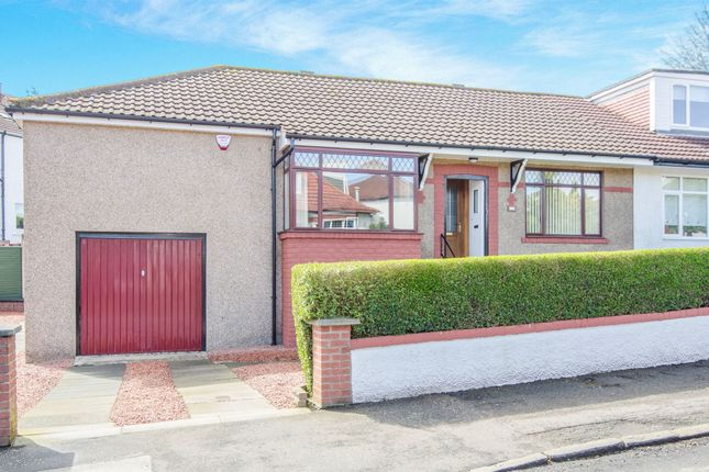 Thumbnail Semi-detached bungalow for sale in Nethervale Avenue, Netherlee, Glasgow