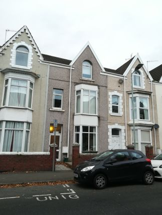 Thumbnail Terraced house to rent in Gwydr Crescent, Uplands Swansea