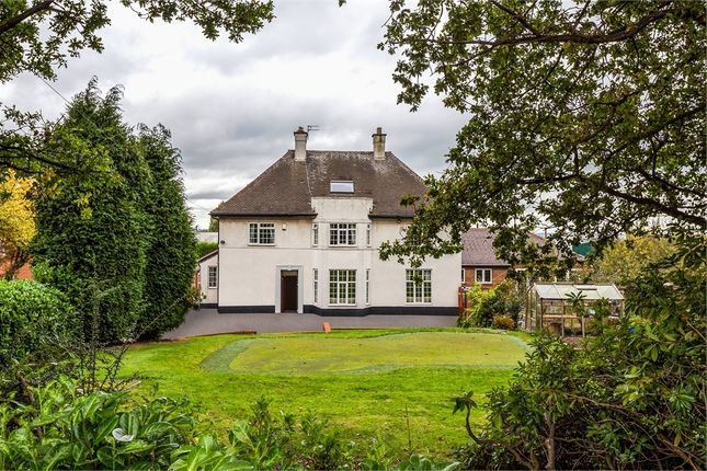 Thumbnail Detached house for sale in Ashby Road Central, Shepshed, Loughborough, Leicestershire